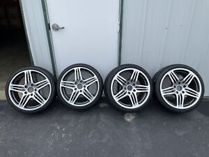 Porsche 911 997 Turbo 19 Inch Wheels With New Tires 2007 2008