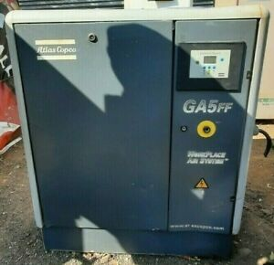 Atlas Copco Screw Compressor Model Ga5 Ff Screw Air Compressor