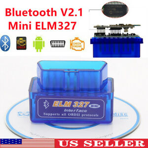 Super Mini Elm327 Bluetooth V2 1 Obd2 Car Diagnostic Tool Scanner Android Torque