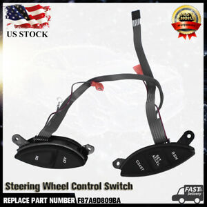 Steering Wheel Cruise Control Switch Fits Ford Explorer Sport Trac Ranger 98 05