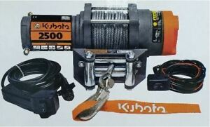 Kubota Terra 2500 25 Superwinch V4380 2500 Pound Winch 1125223