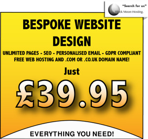 Web Design Service unlimited Pages With Hosting Domain Seo Email