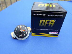 New 1968 Chevelle El Camino In dash Clock Oer Parts 3919015