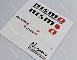 Nismo Small Reflective Car Decal Sticker Set Window Vinyl For Nissan