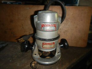 Vintage Porter Cable Router 511 With Base 1 4 Collet