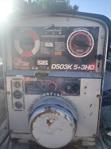 Red D Arc 500 Amp Welding Machine D503k 5 3ho