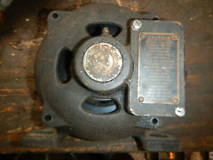 Vintage Atlas Super Power Motor Endbell Casting With Centrifugal Switch