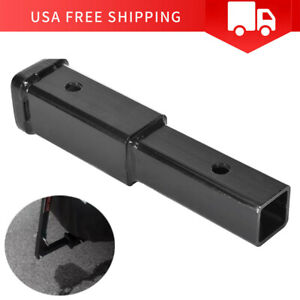 4000 Lb Dual 2 Trailer Hitch Receiver Rise drop Adapter Extender Extension Tow