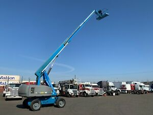 Genie S65 4x4 Boom Lift Low Hours Completely Overhauled Engine