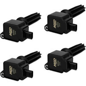 Msd Black Coil For Ford Eco Boost 2 0l 2 3l 4 Pack Exceptional Value Reliable