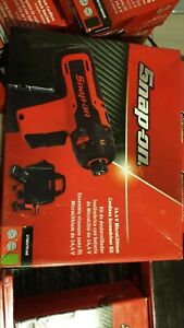 Ctseu761ag New Snap on 14 4 Monsterlithium Cordless Screwdriver Kit