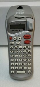 Dymo Esselte Letratag Silver Handheld Portable Label Maker Works Properly