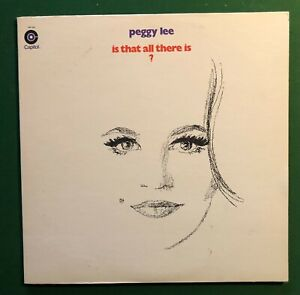 PEGGY LEE 12quot; LP VINYL Is That All There Is? 1969 Yellow CAPITOL Leiber Stoller $5.99