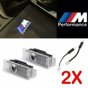 2x Car Door Led Light M Performance Logo Projector For 06 18 Bmw 325 328 330 335