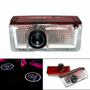 2x Logo Led Door Courtesy Light Ghost Shadow Laser Projector For Mercedes benz