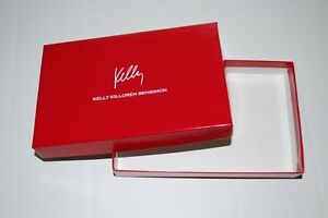 Lot 50 Red Jewelry Boxes Necklace Kelly Bensimon 6x4