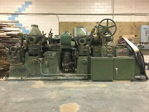 Mattison 5 head 6 x12 Moulder Model 226 With Matching Grinders