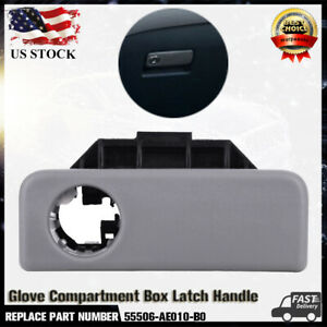 Glove Compartment Box Latch Handle Gray For Toyota Sienna 2004 2010