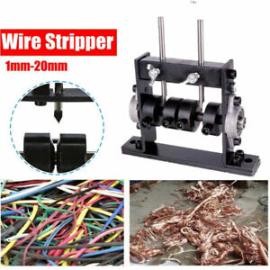 Manual Copper Wire Stripping Machine Scrap Cable Peeling Stripper Recycle Tools