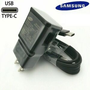 Original Samsung Galaxy Note10 S8 S9 S10 Plus Fast Wall Charger 4fT Type C Cable $8.49