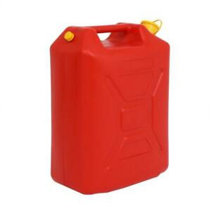 Fuel Can 20l Portable American Fuel Oil Petrol Diesel Storage Can Red Practical