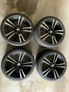 19 Staggered Porsche Wheels W Newer Tires Fits 996 997 Boxster Panamera Cayman