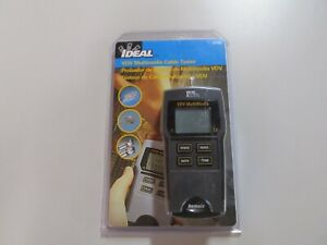 New Ideal 33 856 Vdv Multimedia Cable Tester free Shipping