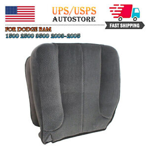 Driver Side Bottom Cloth Seat Cover For Dodge Ram 1500 2500 3500 Slt 2003 2005 A