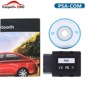 Obd2 Car Key Programmer Psacom Psa Com Bluetooth Support Multi Languages