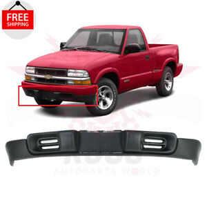 New Front Bumper Air Deflector For 1998 04 Chevrolet S10 Pickup Blazer Gm1092162