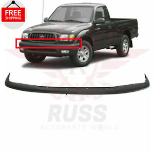 For 01 04 Toyota Tacoma Textured Black Front Upper Bumper Filler Panel To1087112