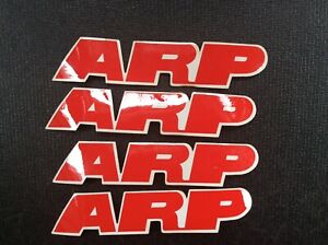 Lot Of 4 Arp Vintage New Old Stock Decals Stickers