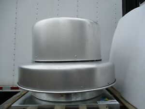 Dayton Power Ventilator Roof Fan Vent Air Extractor 4yu89 Downblast Axial Roof