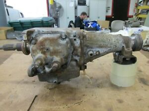 1958 1959 1960 63 Gm Chevy Corvette Saginaw 3 Speed Transmission Short Tail