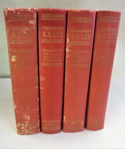 1934 R. H. Lee 4 Volume Biography by Douglas Southall Freeman The Complete Lee $75.00
