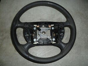 99 04 Ford Mustang Gt Cobra Factory Black Leather Steering Wheel W Cruise 03 02