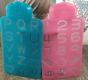 Vtech Doc Mcstuffins Talk And Trace Clipboard Replacement Stencils Lot Of 2 Toys