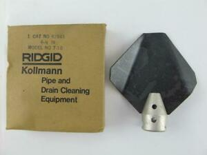 Ridgid New T 10 Auger 4 1 2 Grease Pipe Drain Cutter For K 1500 K 1500sp K1500g