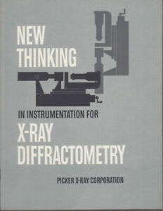 Picker New Thinking In Instrumentation For X ray Diffractometry Brochure 1961