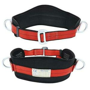Portable Safety Belt Kit With Hip Pad And 2 D Rings Safety Climbing Harness