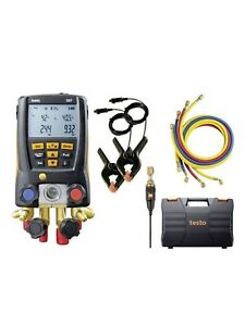 Testo 557 Digital Manifold Kit With Bluetooth 05631557