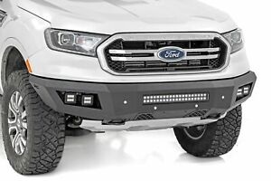 Rough Country For Ford Heavy duty Front Led Bumper 19 21 Ranger
