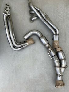 09 10 Jeep Grand Cherokee 5 7l Arh 1 3 4 X 3 L t Headers With Catted Y pipe