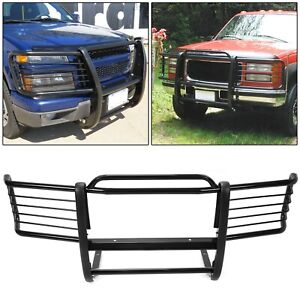 Fits 1988 1998 Chevrolet Gmc Silverado Sierra Black Grill Grille Brush Guards