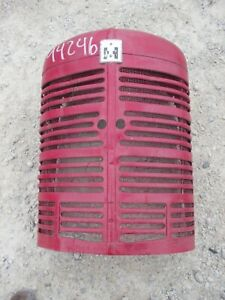 Farmall M Early Sm Ih Tractor Orgnal Nose Cone Grill W Screen Emblem Insert