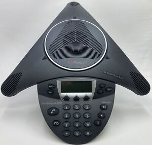 Polycom Soundstation Ip 6000 Poe 2201 15600 001 Hd Voice Conference Phone Nice
