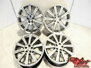 Used Subaru Jdm Forester Sti Aluminum Forged 5x100 18x7 5 Replacement Oem Mags