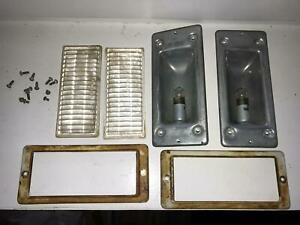 Original Dodge Wc 54 Roof Lamps Miltary Us Army Ww2