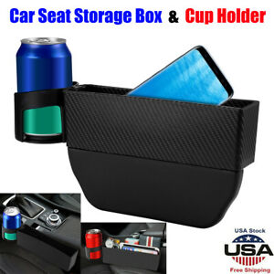 Removable Car Seat Crevice Box Storage Cup Holder Organizer Gap Pocket Stowing