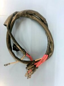 International 61 68 Travelall Electric Tailgate Window Wiring Harness Nos